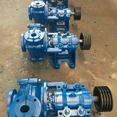 源润达1.5/1B-AHR型渣浆泵泵不转涡壳内堵清理污物