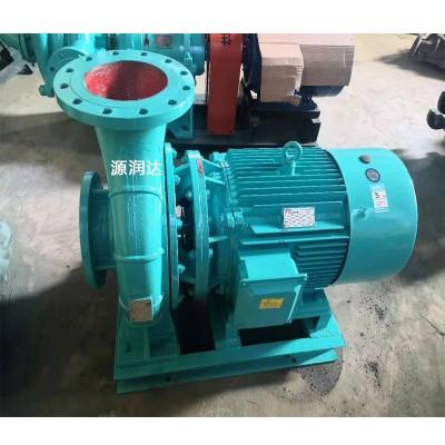 源润达65-100管道泵电机发热电压不足调整出口阀