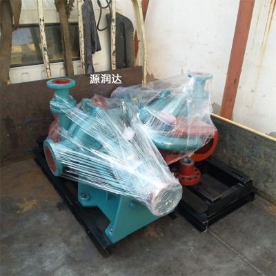 源润达150ZJ-I-A58型渣浆泵泵轴电机轴不同心找正拧紧