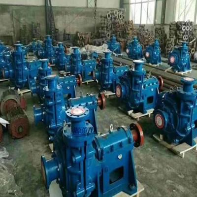 源润达150ZJ-I-A63渣浆泵关小水出阀调电机超负荷