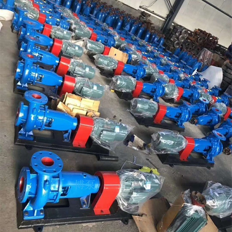 博泵IS50-32-125型单级单吸离心清水泵厂家农业排灌管道泵