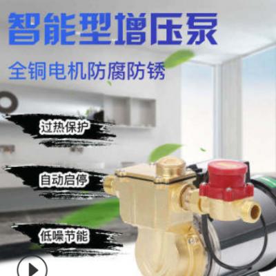 家用小型铜泵头防锈自吸泵冷热水器太阳能管道来水自动设备增压泵