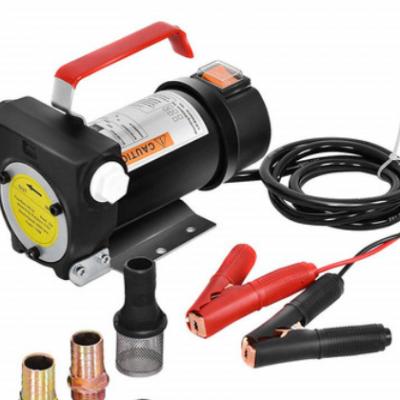厂家批发电动油泵 车载直流柴油泵 小型加油泵