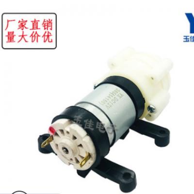 厂家R385直流隔膜泵 泡茶机 6-12v 微型 小抽水泵 笔记本水冷 鱼