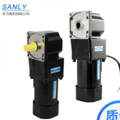 永力SANLY鞋机行业设备减速电机 印刷机械减速电机 直角中实电机