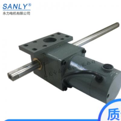 直线式齿轮减速电机 DM07有刷直流排杆电机 齿轮减速直流推杆电机