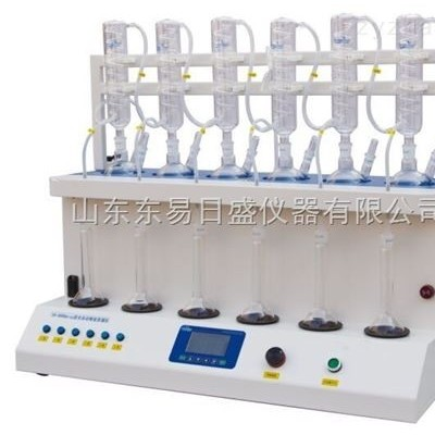 6000pro型-全自动智能蒸馏仪 精确定量馏出液蒸馏仪