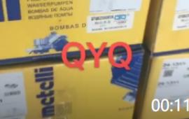00:11 奔驰卡车水泵 奔驰泵车水泵 意大利品牌